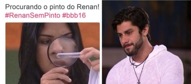Munik e Renan em memes da internet