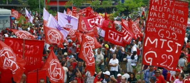 Protestos de quinta-feira em São Paulo