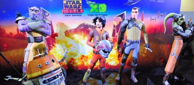 Star Wars Rebels via Flickr Heather Paul CC2.0