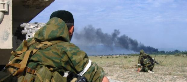 Un membru Spetnaz a devenit erou murind împreună cu jihadiștii