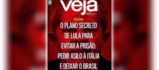 Veja revela fuga de Lula para a Itália