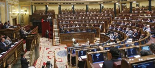 Cámara del congreso de diputados.