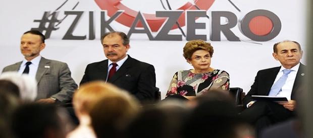 A presidenta Dilma Rousseff em evento do Governo
