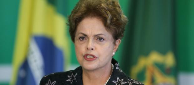 Dilma Rousseff em discurso no Congresso
