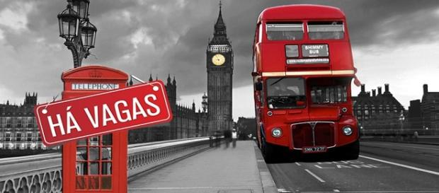 Vagas de emprego na capital britânia
