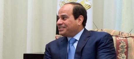 Il Presidente Abd al-Fattāḥ Saʿīd Ḥusayn Khalīl al-Sīsī