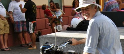 El fotoperiodista Fidel Raso, en Ceuta.