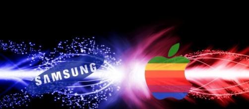 Il logo Samsung, l'azienda che ha creato Samsung Gear S2