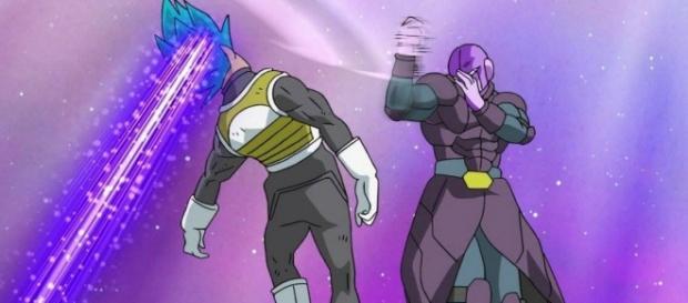 Capítulo 37 y 38 de Dragon Ball Super Vegeta vs Hit