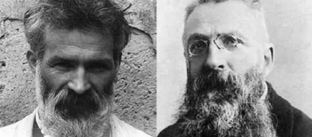 Constantin Brâncuși și Auguste Rodin