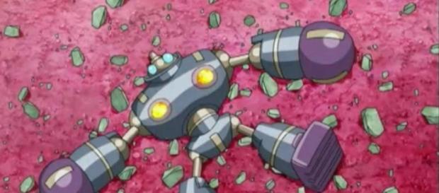 el robot quedó fuera de la plataforma