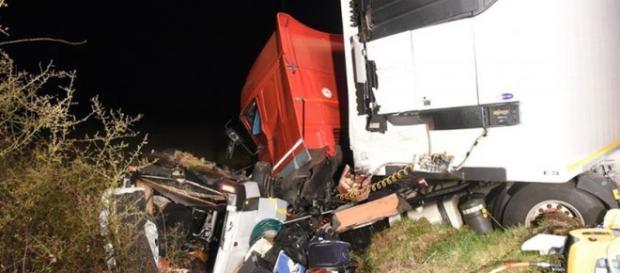 O acidente matou 12 imigrantes portugueses