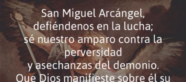 Oración Arcanguel Miguel para el mal de ojo.