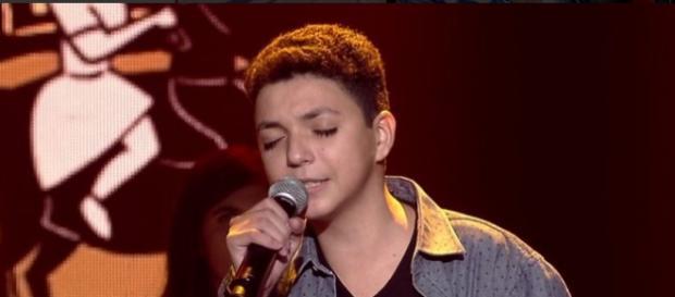 Wagner Barreto venceu o The Voice Kids (Reprodução/Globo)