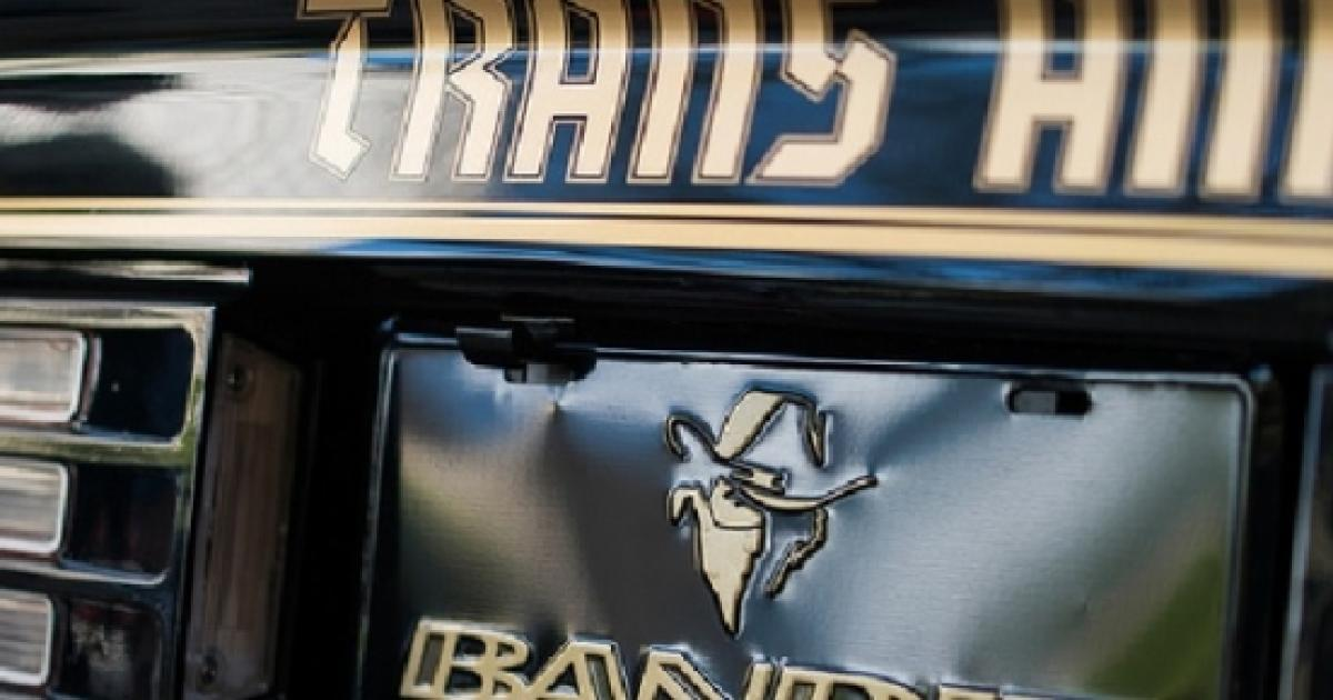 Special Edition Firebird Trans Am Bandit Signed By Burt