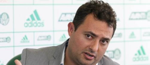 Alexandre Mattos, executivo de futebol do Palmeiras.