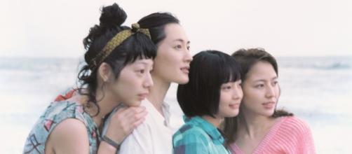 Cartel de 'Nuestra hermana pequeña' de Kore-eda.