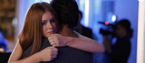 Eliza é salva por Jonatas (Gshow)