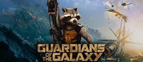 Imagen de Gamora en el set de 'Guardianes de la Galaxia Volumen 2'