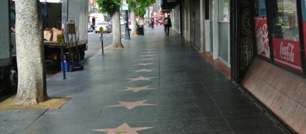 Calçada da fama em Los Angeles - Estados Unidos