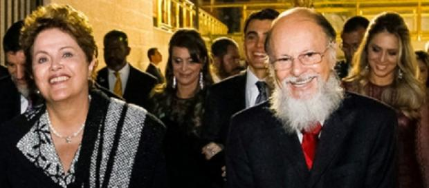 Dilma e Edir Macedo - Foto/Divulgação