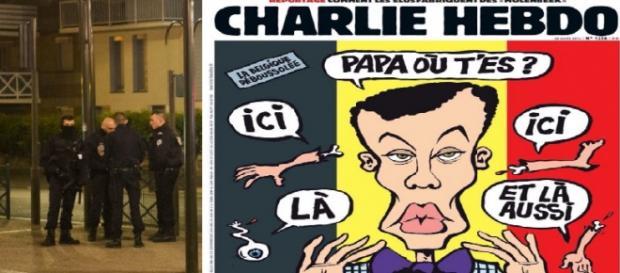 Operaciones antiterroristas y la portada de Charlie Hebdo son la noticia en Francia