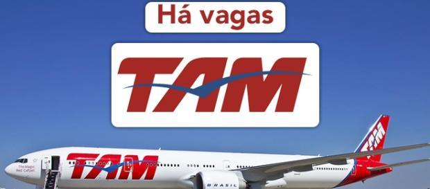 Vagas na TAM. Foto: Reprodução Publicidadeecerveja.