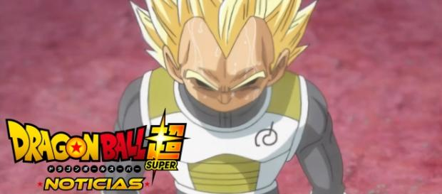 Vegeta en el ultimo episodio de la serie japonesa