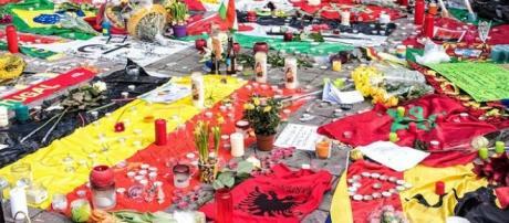 Place de la Bourse in ricordo delle vittime.