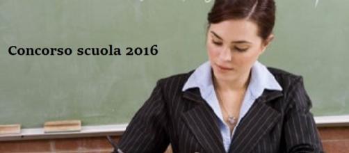 Concorso scuola 2016 ultime notizie