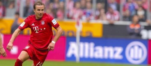 Mario Gotze in maglia Bayern Monaco