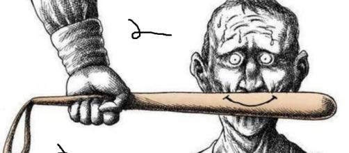 Viñeta que simboliza la censura y las presiones.