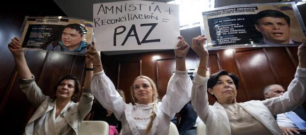 Ley de Amnistía fue aprobada por la Asamblea Nacional
