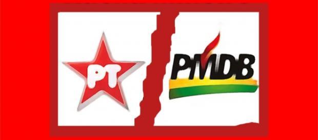 PMDB anuncia fim da parceria com PT