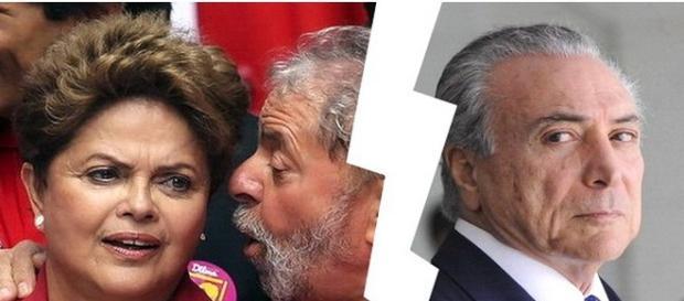 PMDB rompe com governo Dilma oficial