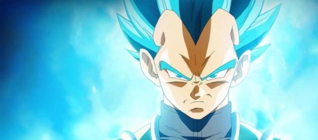 Vegeta super saiyajin dios azul perfecto
