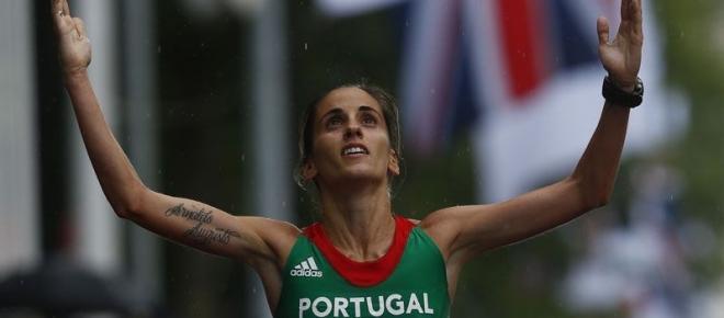 Jéssica Augusto terminou em 10º lugar na Maratona de Londres