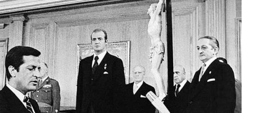 Adolfo Suárez,Rey Juan Carlos,Democracia