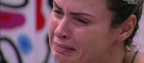 Ana Paula quer sair do BBB16 (Reprodução/Globo)