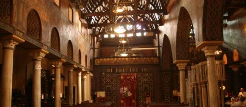 "Chiesa copta la ""Pendente"" al Cairo"