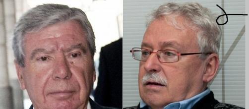 Dos figuras contrarias al pacto con Podemos.