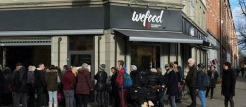 El supermercado de la ONG en Dinamarca