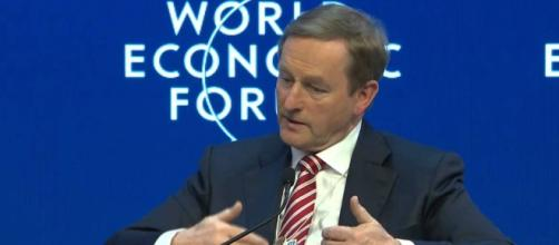 Enda Kenny, en el World Economic Forum (WEF)