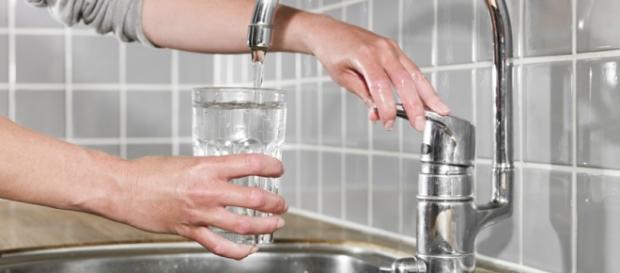 Contaminação por gotículas de vapor de água