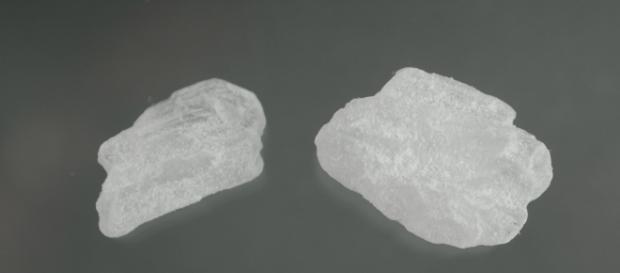 Cristalli di metanfetamina, pericolosa droga