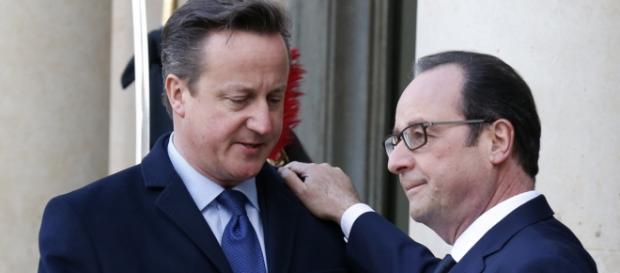 David Cameron și Francois Hollande
