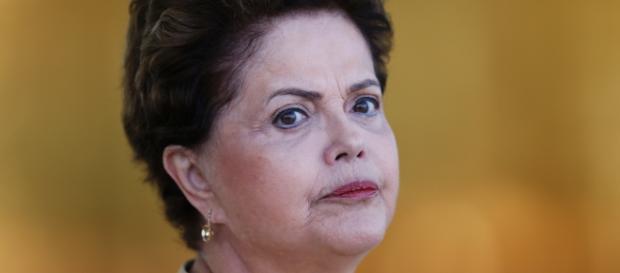 Em destaque, presidente Dilma Rousseff.