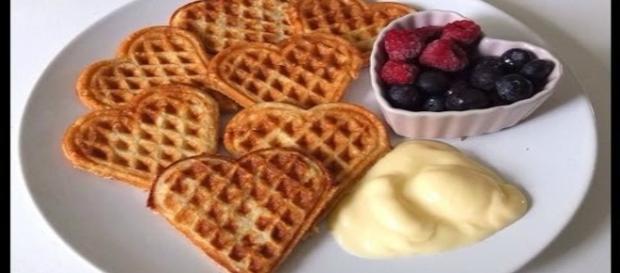 Ricetta dei golosissimi waffle