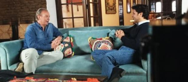 "Bertín Osborne entrevista a Fran Rivera en ""Mi casa es la tuya"""