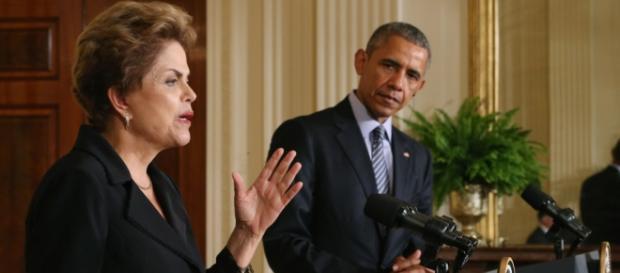 Dilma e Barack Obama - Imagem: Google